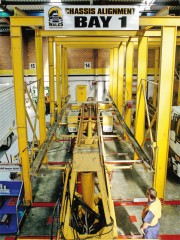 Chassis Aligning Department